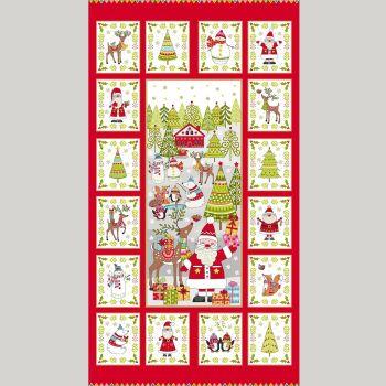 2108 Festive Christmas Panel