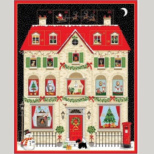 New 2133 House Christmas Advent Calendar