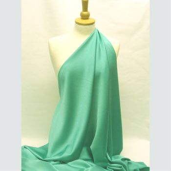 Prada Satin Backed Crepe Jade