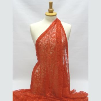 Corded Lace - Red L1678-18