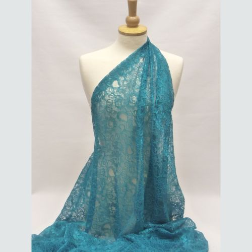 Corded Lace - Teal L1678-42