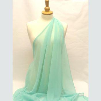 Turquoise Chiffon L0081