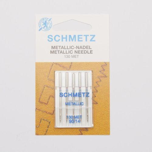 Metallic Machine Needles 14's