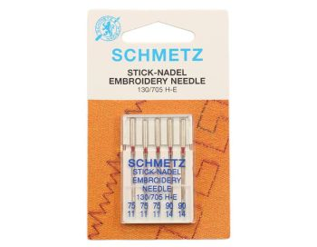 Embroidery Machine Needles 11 -14's