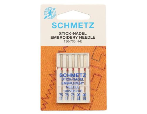 Embroidery Machine Needles 11 -14's