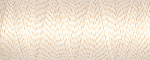 802 Ivory Guterman Sew All Thread 100m