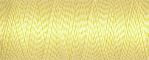 578 Lemon Guterman Sew All Thread 100m