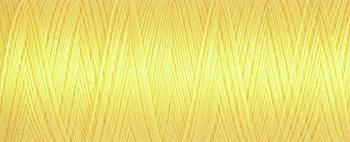 852 Yellow Guterman Sew All Thread 100m