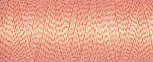 586 Peach Guterman Sew All Thread 100m