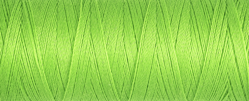 336 Lime Green Guterman Sew All Thread 100m