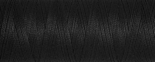 000 Black Guterman Sew All Thread 1000m