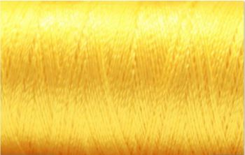 1023 Yellow Sulky Rayon 1000m Machine Embroidery Thread