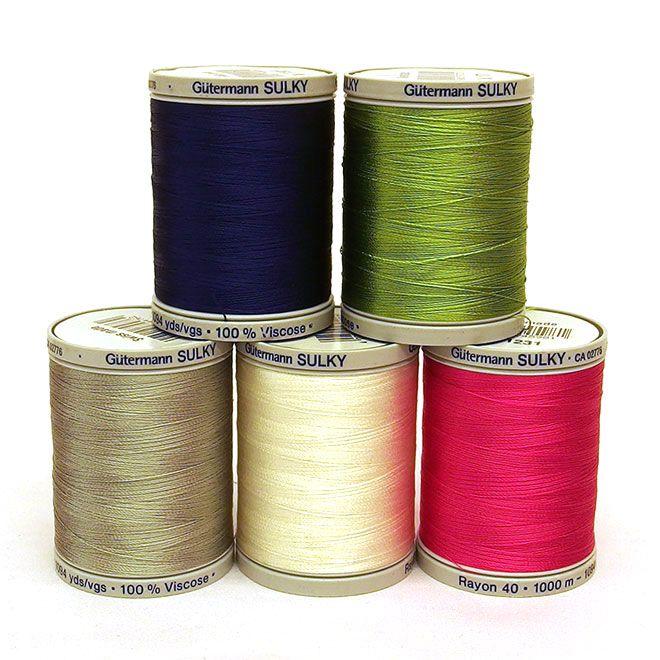Gutermann Machine Embroidery Threads
