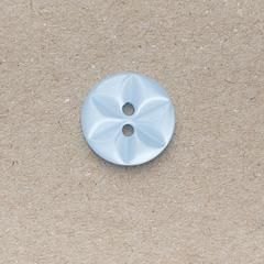 CP86-22-22L Pale Blue 14mm Star Buttons x 10