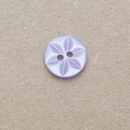 CP86-15-18L Lilac 12mm Star Buttons x 10