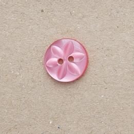 CP86-22L-43 14mm Star Buttons - Raspberry