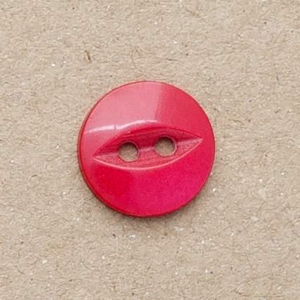 CP16-30-26L 18mm Red Fish Eye Buttons