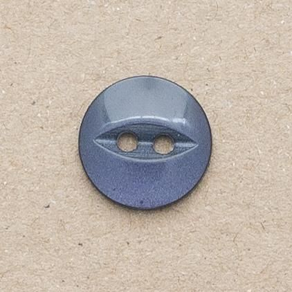 CP16-25-24L Navy 14mm Fish Eye Buttons