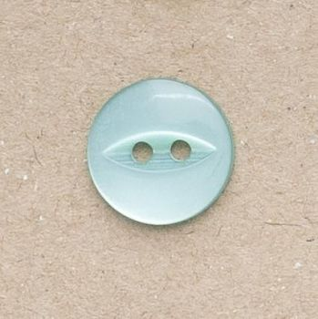 CP16-33-22L Turquoise 14mm Fish Eye Buttons x 10