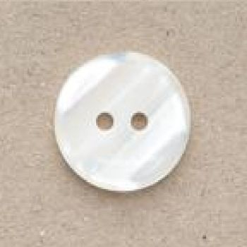 CP98-08-24L  Cream 15mm Variegated Buttons x 10