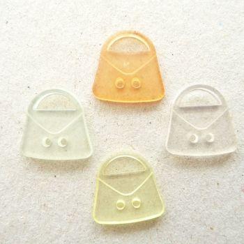 TCS12 Coloured Handbag Buttons x 10