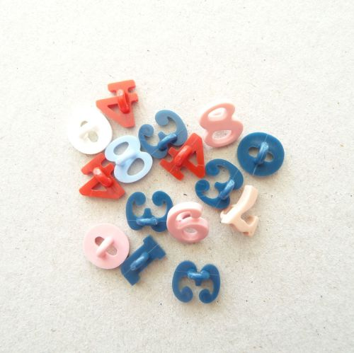 TCS05 Number Buttons x 10