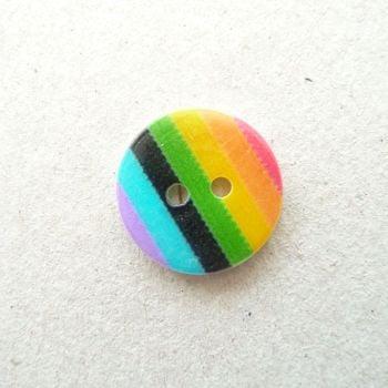 X802 Rainbow Buttons x 10