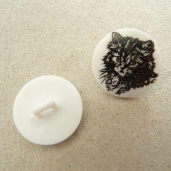 TCS01 Cat Buttons x 10