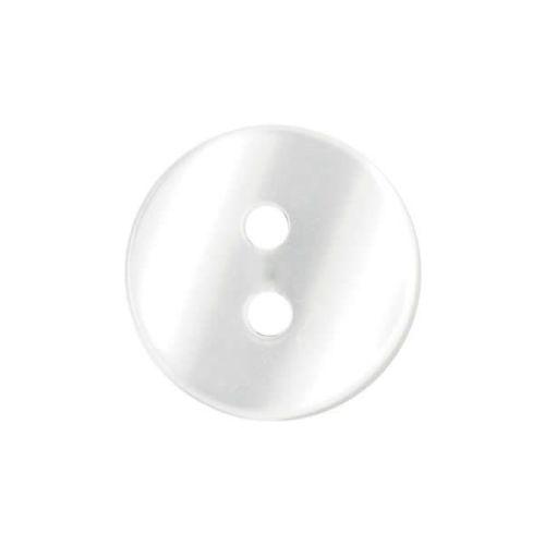 P733-16L White Shirt 11.5mm Buttons x 10