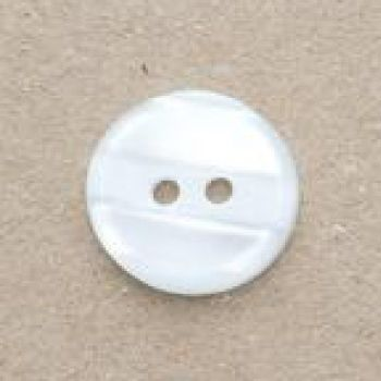 CP98-01-20L  White 13mm Variegated Buttons x 10