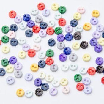 K617-10 Teeny Tiny Buttons x 10