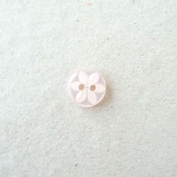CP86-05A-18L Pale Pink 12mm Star Buttons x 10
