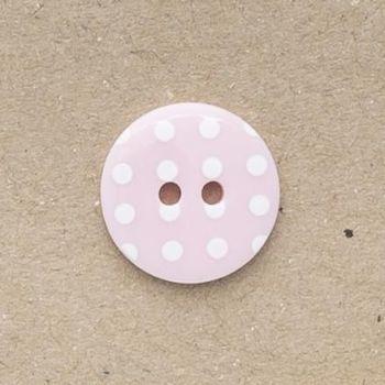 P1724-220-20L Spot Pink 13mm Buttons x 10