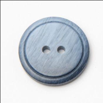 P565-09-24L Denim Blue 15mm Buttons x 10