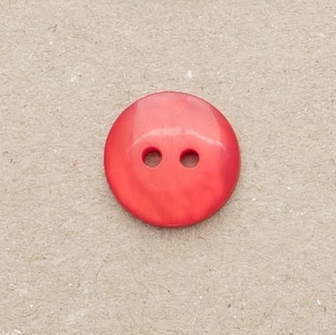 P1080-4120L Red Pearlescent 13mm Buttons x 10