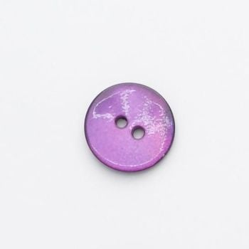 X470-R467-28L Purple Sea Shell 18mm Buttons x 10
