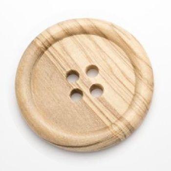CW11-80L Large Wood 50mm Button