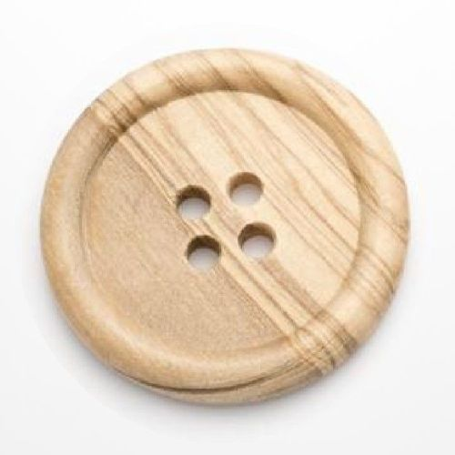 CW11-80L Large Wood 50mm Buttons x 10