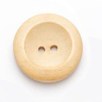 CW03-45L Wooden 28mm Buttons x 10