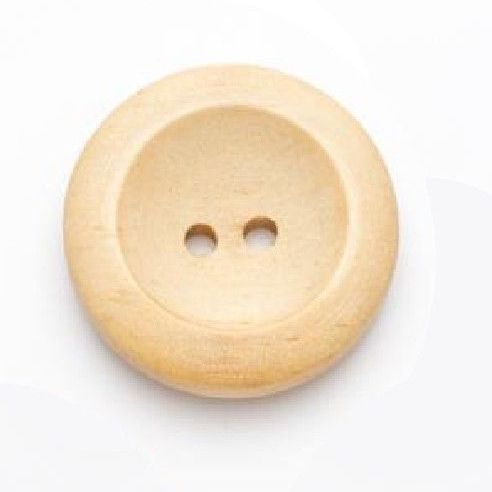 CW03L Wooden 28mm Buttons x 10