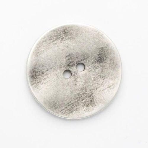 B710-32L Silver Metal 21mm Button