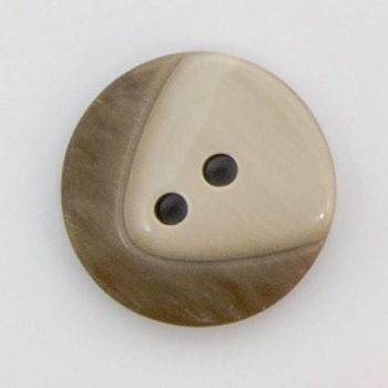 CP21-23-40L Brown Coat 25mm Buttons x 10