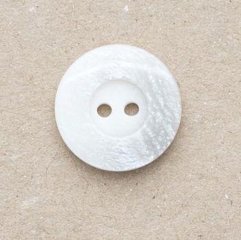 P1005-32401-36L White-Grey Coat 23mm Button