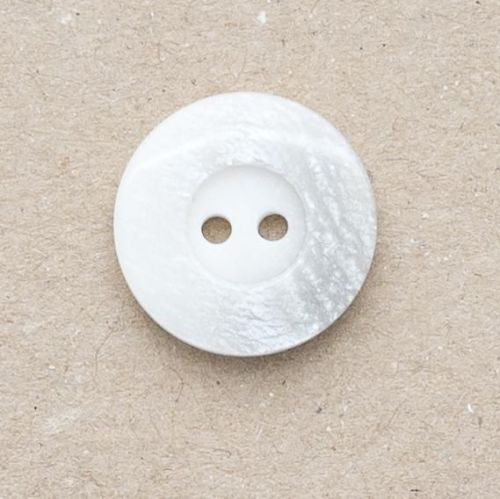 P1005-32401-36L White-Grey Coat 23mm Button