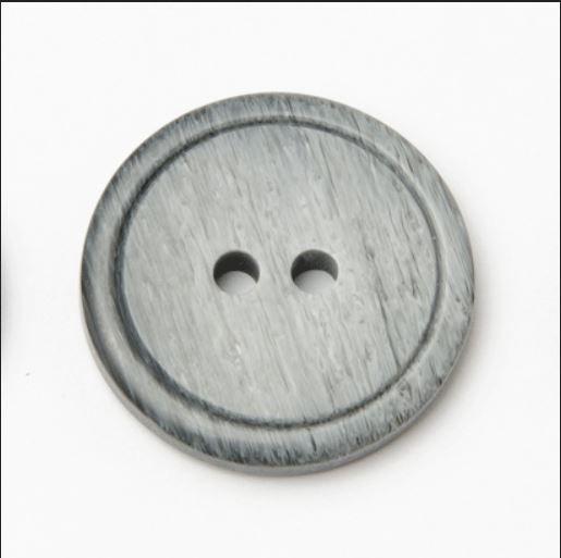 P565-04-24L Tonal Grey 15mm Buttons x 10