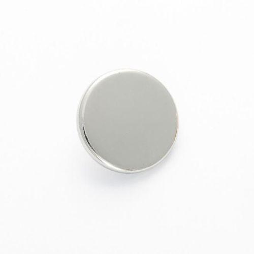 B1062-S-24L Silver Blazer 15mm Buttons x 10
