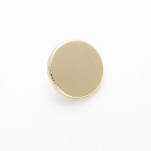 B1062-G-24L Gold Blazer 15mm Buttons x 10