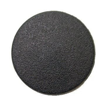 CN122-Blk-30L Matte Black 20mm Buttons x 10