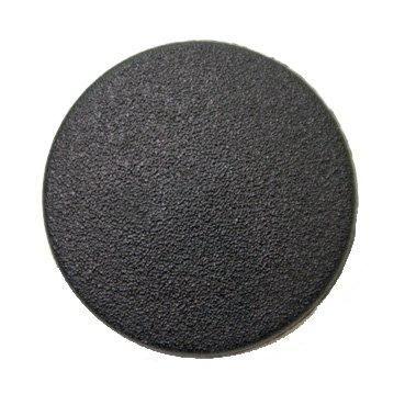 CN122-Blk-30L Matte Black 20mm Buttons x 10