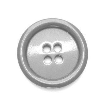 P975-99-36L Grey Coat 23mm Buttons x 10